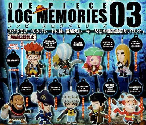 Bonney One Piece. One Piece Log Memories 03