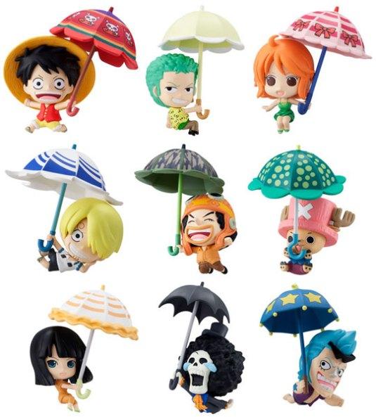 petit chara land one piece sky parasol ver gashapon rakuen. Black Bedroom Furniture Sets. Home Design Ideas